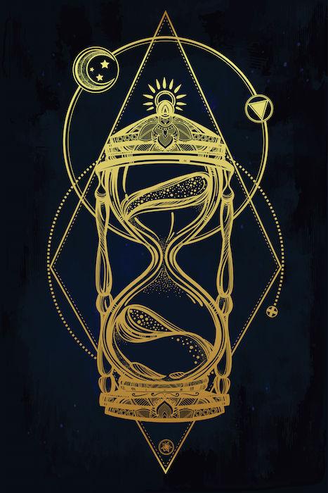 19 grandfather clock tattoo designs drawn clock