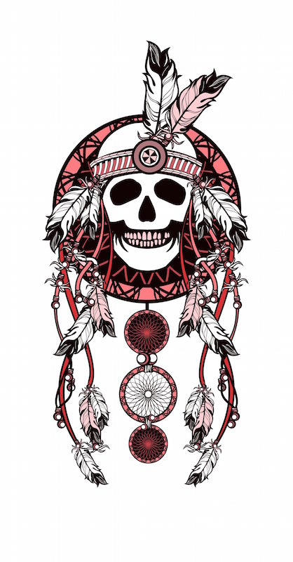 Dreamcatcher tattoo meaning tattoos with meaning for Dreamcatcher beads meaning