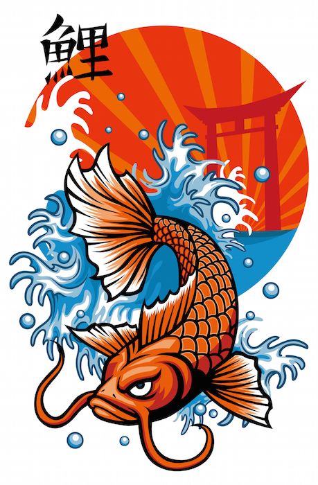 Koi fish tattoo meaning tattoos with meaning for Koi fish meaning