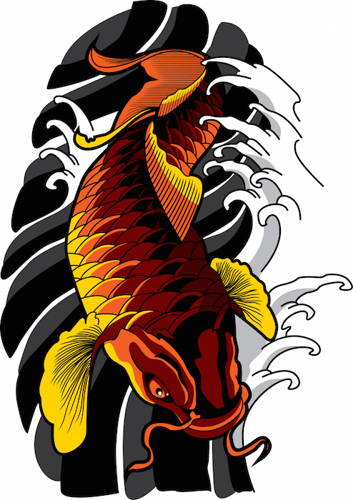 Koi fish tattoo meaning tattoos with meaning for What does koi mean