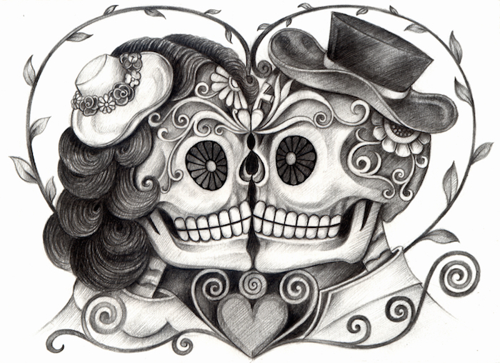 Skull tattoo meaning tattoos with meaning for Skull love tattoos