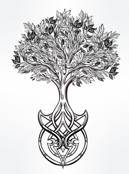 Tree of Life Tattoo Meaning - Tattoos With Meaning Irish Loyalty Symbol Tattoo