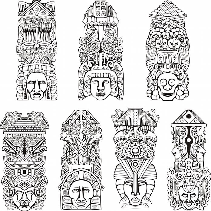 Aztec Design Tattoo Small: Tattoos With Meaning