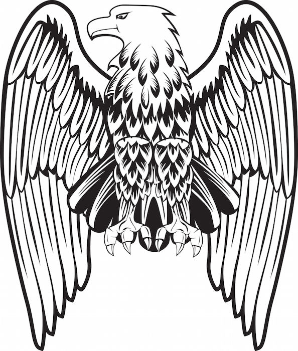 Eagle tattoos tattoos with meaning for Freedom tribal tattoos