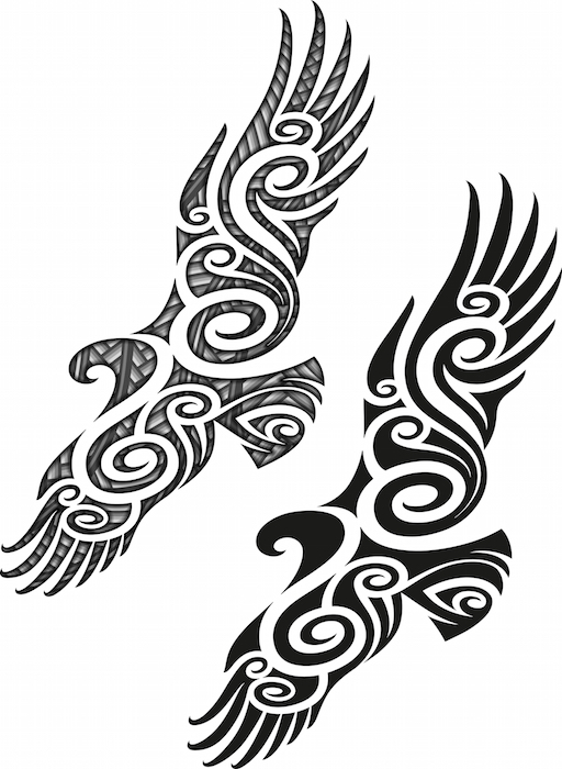 Maori Tattoo Meaning on drawing process