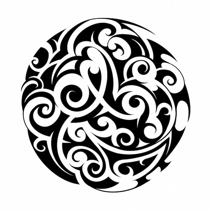 maori tattoo circle shape vector ethnic pattern tribal shutterstock royalty meaning eagle significance tattoos polynesian stencil cartoon meanings preview shapes